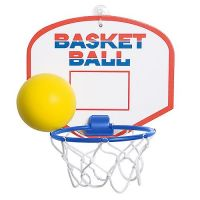 Basketballspiel Jump, (Pappe), Ring blau
