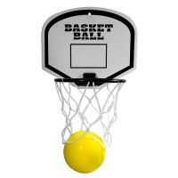 Basketballspiel Dunk, Ring + R�ckwand wei�