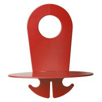 Handy-Ablage PowerPort Holder, rot, OVAL