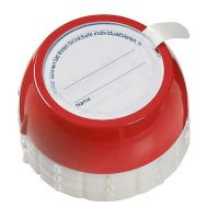 Flaschensafe Secure gro�, rot PTN. 485C, Durchm. 38mm