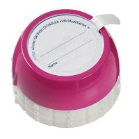 Flaschensafe Secure gro�, process magenta, Durchm. 38mm