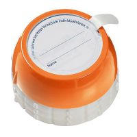 Flaschensafe Secure gro�, orange PTN. 1505C, Durchm. 38mm