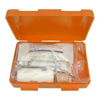 Notfall-Set Box, gro�, orange