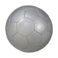 Fu�ball Big Carbon, silber