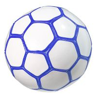 Fu�ball Mini Colour, wei�/blau