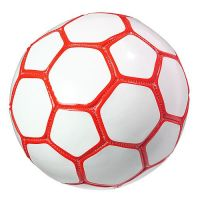 Fu�ball Mini Colour, wei�/rot
