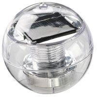 Solarlampe Mirror ball, transparent