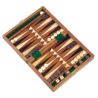Backgammon-Spiel Timber, natur
