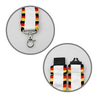 Lanyard Nations Deutschland, wei�