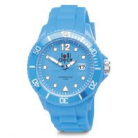 Armbanduhr LOLLICLOCK DATE LIGHT BLUE