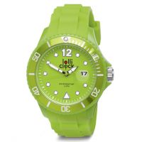 Armbanduhr LOLLICLOCK DATE LIGHT GREEN
