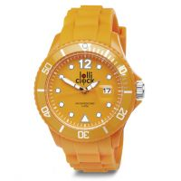 Armbanduhr LOLLICLOCK DATE ORANGE